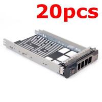 "20Pcs 3.5"" Hot Plug Hard Drive Tray Caddy For Dell PowerEdge T710 NX3100 NX3200"