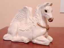 Vintage 1992 Windstone Editions Pegasus Mother Mint Condition Blue Diamonds