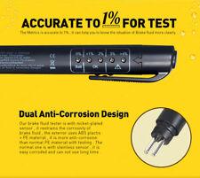 5 LED Brake Fluid Liquid Oil Tester Pen Indicator Car Testing Tool for DOT4/DOT3