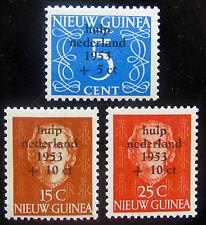 NNG NVPH 22 - 24 Watersnoodzegels 1953 prachtig postfris CW 45,-