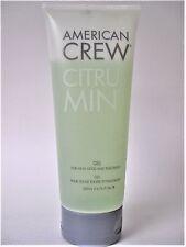 American CREW~citrus mint HIGH HOLD STYLING GEL 6.76 oz