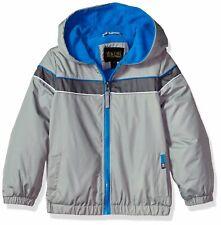 iXtreme Boys' Little Colorblock Jacket with Fleece Lining, Gray, 5