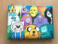 NEW Official Adventure Time Cartoon Network Pencil Case / Cosmetic Bag Zipper A1