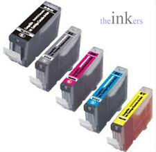 1 X SET OF 5 COMPATIBLE INK CARTRIDGES FOR CANON MG5250 MG6150