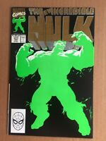 The Incredible Hulk #377 :  FIRST APP PROFESSOR HULK -- 2nd PRINT (Marvel 1991)