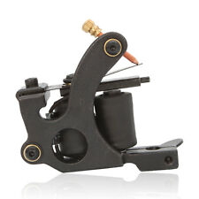 Low-carbon Steel 8 Wrap Coil Tattoo Machine Gun for Liner Shader Black