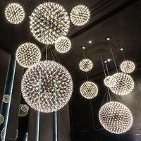 Dia 20cm Modern Sparks Ball LED Pendant Lamp Suspension Hanging Light Chandelier