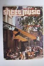 Sheet Music Magazine October 1983 Volume 7 No 7 I Love Paris Issue Standard Orga