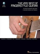 The Very Best of Fingerstyle Guitar Sheet Music Solo Guitar with Tab 000699543