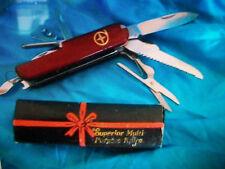 DIAMOND SUPERIOR MULTI PURPOSE KNIFE ART. NO. K5011 CHINA  *121714