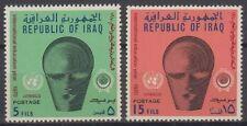 Irak Iraq 1970 ** Mi.637/38 Erziehung Bildung Education
