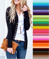 V Neck Long Sleeve Cardigans for Women for sale | eBay