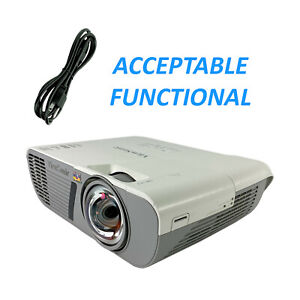 ViewSonic PJD6552LWS DLP Projector Short-Throw - Acceptable Functional w/P.Cord