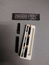 Osmiroid calligraphy Pen Set Used parts only