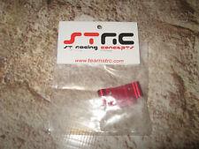 RC HPI Blitz STRC Red Front Bulkhead CNC Aluminum