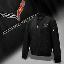 2014-2019 Corvette C7 Mens Wingover Bomber Jacket with Logo and Script 637728