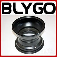 """Black 10"""" 10 Inch 110mm Hole 4 Stud Rear Back Wheel Rim Quad Dirt Bike ATV Buggy"""