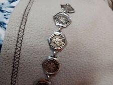 1942 silver dime antique bracelet