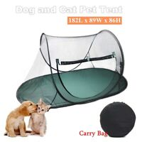 Large Pet Cat Dog Playpen Outdoor Portable Exercise Cage Play Tent   !!