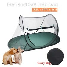 Large Pet Cat Dog Playpen Outdoor Portable Exercise Cage Play Tent