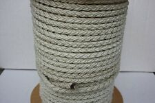 12mm 8 Strand White Nylon Rope x 35mts Anchor Mooring Rope Multiplait Octoplait