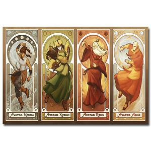 Avatar The Legend Of Korra Anime Silk Poster 12x18 24x36 inch 004