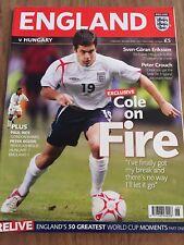 England Vs Hungary International Fixture Programme 30/05/2006