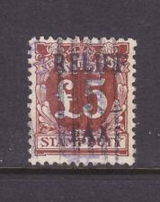 Nsw 1930 5 Pound Relief Tax Ov/Pr F.Used