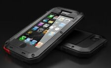 Lunatik TAKTIK Case for iPhone 5 6 7 8 X Black White Shock Proof + Gorilla Glass