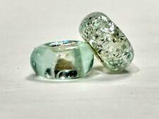 Heisey Zircon Bead Made With Broken Heisey Glass