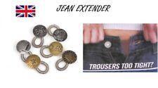 Button Waist Extenders Pack of 4 Buttons Instant Fix Tighten /& Loosen