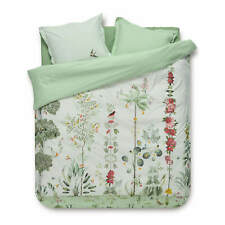 PiP Studio Bettwäsche Babylons Garden Weiß Blume Blüten Vögel Motiv Perkal