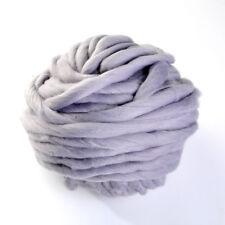 45M Super Soft DIY Knitting Wool Yarn Roving Bulky Chunky Roving Crocheting Hot