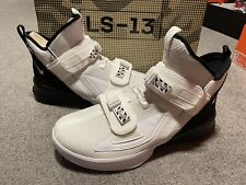 Nike LeBron Soldier XIII SFG AR4225 100 White/White-Black New Men's Size 10