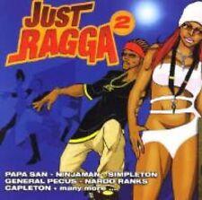 Reggae Music Dancehall Just Ragga Vol 2 2007 CRCD0702 Authentic Sealed CD Album