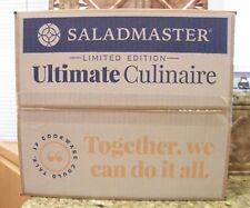 NEW SALADMASTER 3 QT ULTIMATE CULINAIRE PAN SKILLET 316Ti TITANIUM STAINLESS