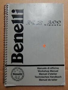 BENELLI SCOOTER K2 100 BIPOSTO GENUINE WORKSHOP MANUAL *