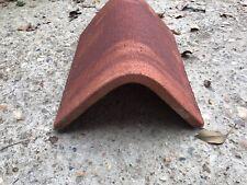 Reclaimed Hand Made Keymer Saddle Ridge Tiles - £10 Per Ridge
