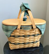 Longaberger Traditions Fellowship Combo Woodcrafts Lid