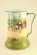 Vtg Royal Doulton Porcelain China Coaching Days Pitcher / Tankard Mug E-2768