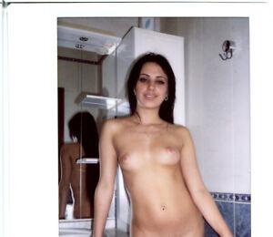 022157 Original Nude Polaroid Instax WIDE Instant Art Photograph Kristina