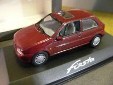 1/43 Minichamps ford fiesta 1996 rojo oscuro precio especial 19,99 € en lugar de 34,95 €