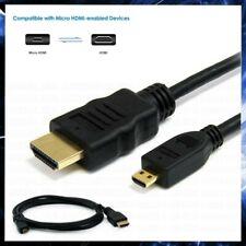 CAVO MICRO HDMI MASCHIO TIPO D / A 1 METRO CAVETTO ADATTATORE CONVERTITORE TV 4K