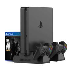 Kootek PS4 Slim Pro Vertical Stand, Controller Charger, Cooling Fan, Charging