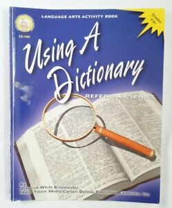USING a DICTIONARY Reference Series grades 4-8 Home school Pronunciation Key