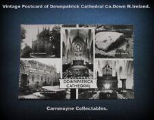 Vintage Montage Postcard of Downpatrick Cathedral Co.Down. N.Ireland.AH6184.