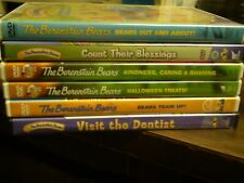 (6) The Berenstain Bears Children's DVD Lot: Halloween  Out & About  Team Up!