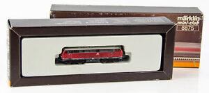 Vintage Marklin Mini-Club 8875 German Z Scale Diesel Locomotive DB 216 025-7