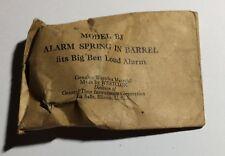 NOS 1940s Westclox Model B3 Big Ben LOUD Alarm Spring in Barrel- NEW In Package!