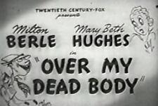 OVER MY DEAD BODY Milton Berle, Mary Beth Hughes 1942 region free dvd